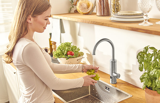 Rovus Instant Heating Faucet Kitchen